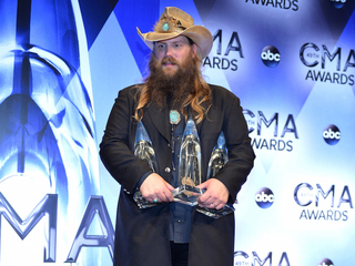 Backstage reactions at the 2015 CMA Awards