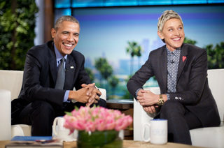 Obama recites love poem to first lady on 'Ellen'