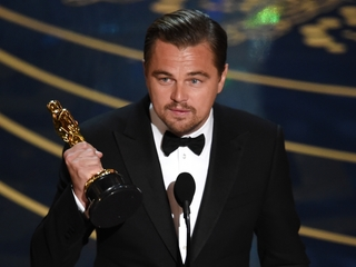 Leo DiCaprio finally won his first Oscar