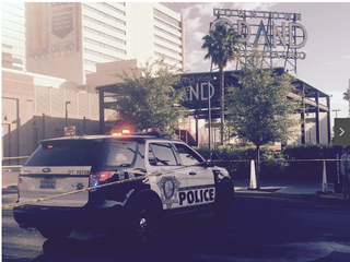4 people shot in downtown Las Vegas