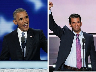 Trump Jr. accuses Obama of plagiarizing