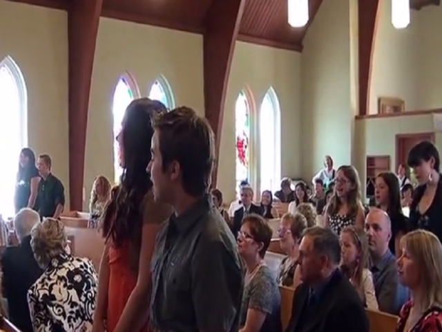 WATCH Music Students Pull Off Flash Mob At Wedding