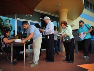 Voters took advantage of registration extension