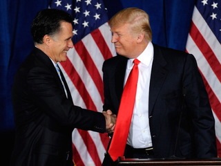Is Trump considering Romney for sec. of state?