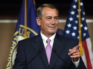 John Boehner doesn't miss working in politics