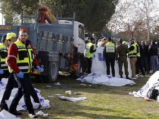 4 killed in Jerusalem vehicle attack