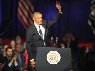 Obama delivers first post-presidency remarks