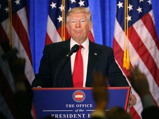 Trump wrote inauguration speech himself