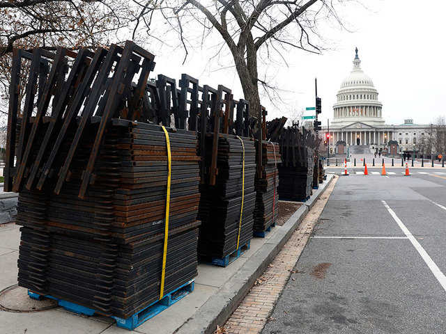 Police brace for large protests at inauguration