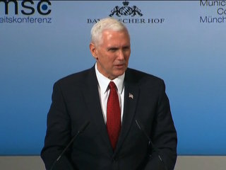 Pence vows US will 'hold Russia accountable'