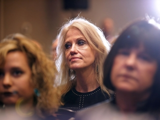 Conway back on TV after weeklong hiatus