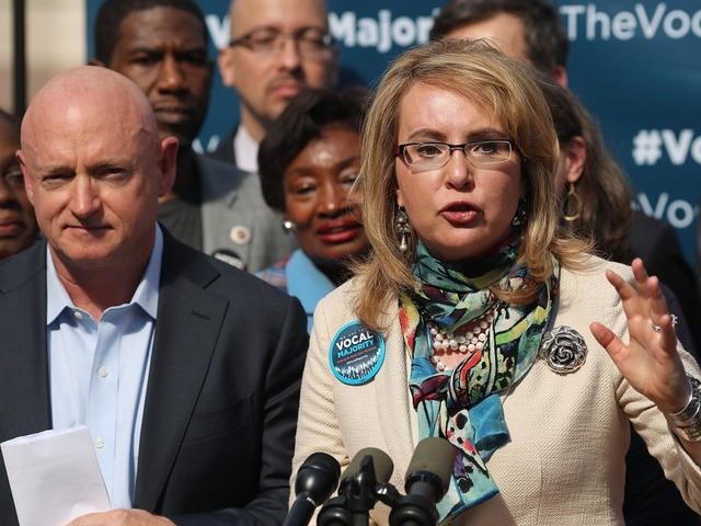 Gabrielle Giffords issues statement after Las Vegas shooting