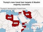 Judge in Maryland blocks Trump's travel ban