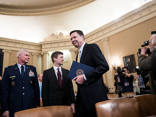 WATCH: James Comey testifies on Russia, wiretap