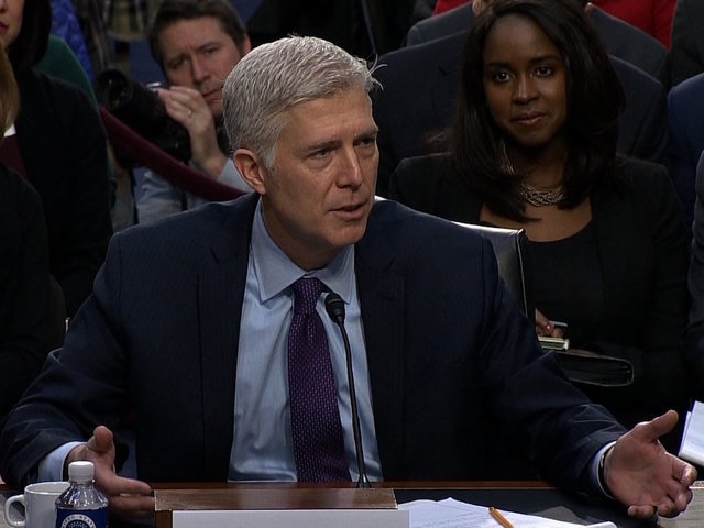 Senate Judiciary Committee approves Gorsuch nomination; Democrats have enough votes for filibuster