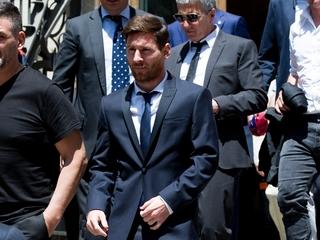 Spanish court upholds Messi's tax fraud sentence