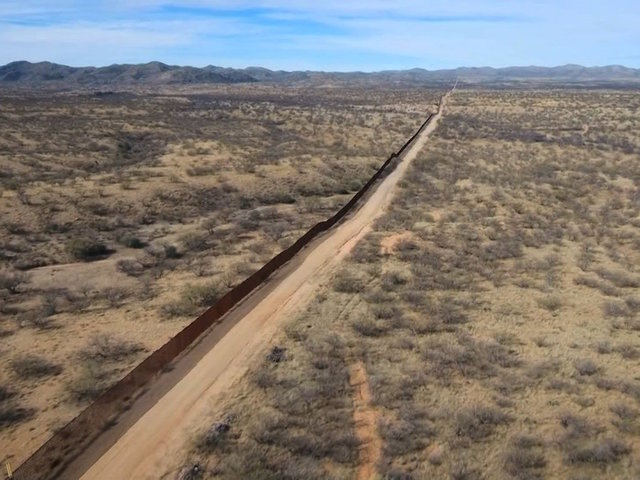 $1.6bn border wall proposed by House GOP committee
