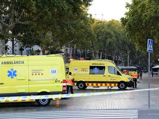 Dozens injured in Barcelona van attack