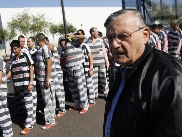 Judge dismisses case against pardoned Arpaio