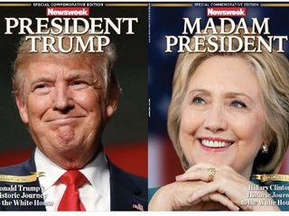 'Madam President' Newsweek covers sell online