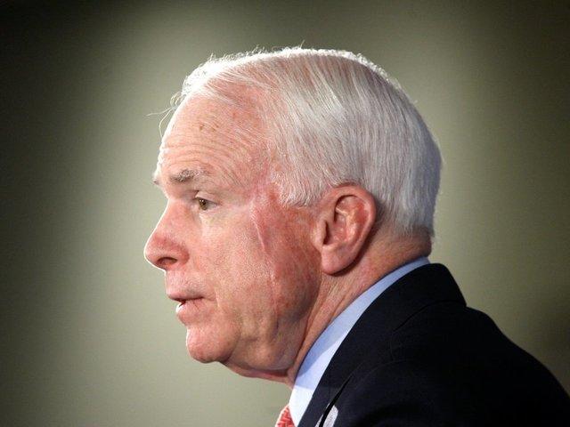 Trump calls wife of hospitalized Sen John McCain