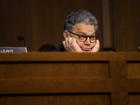 Trump blasts Franken, but stays silent on Moore