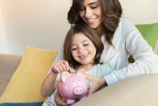 Save for retirement and kids' college at the
