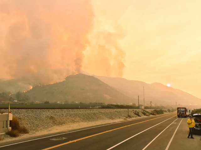 Celebrities React to Los Angeles Wildfires
