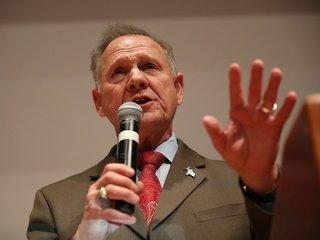 Moore isn't giving up on Alabama's Senate seat