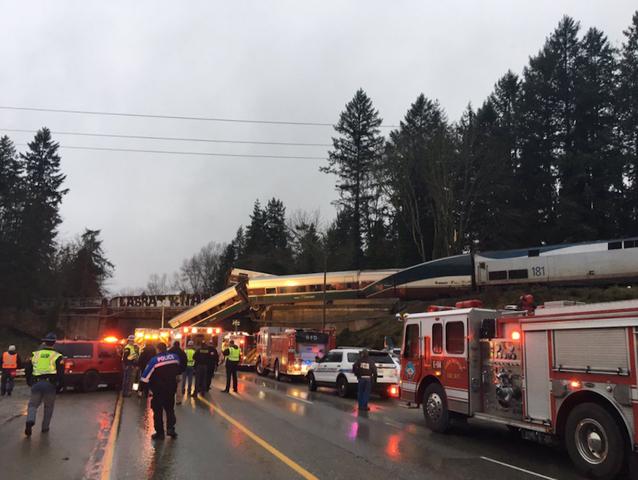 Fatalities reported in Amtrak train derailment
