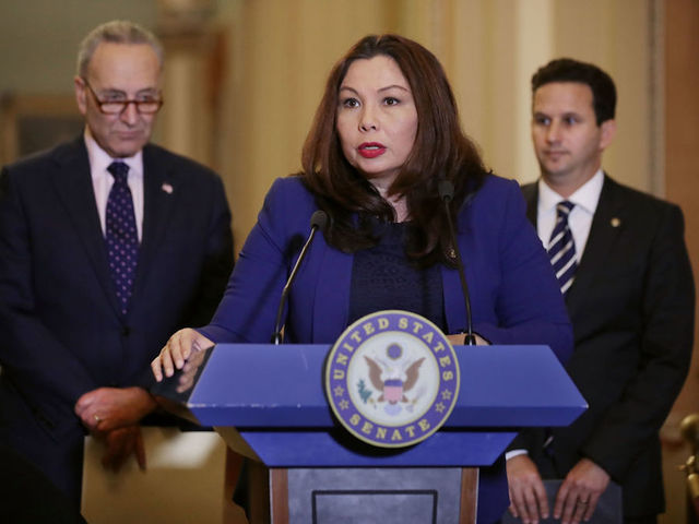 Duckworth to become first senator to give birth in office