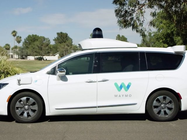 Waymo starts giving public rides in self-driving vans