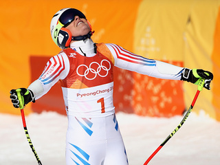 Vonn loses out in super-G
