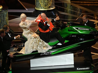 Jet Ski winner Mark Bridges had best Oscar night