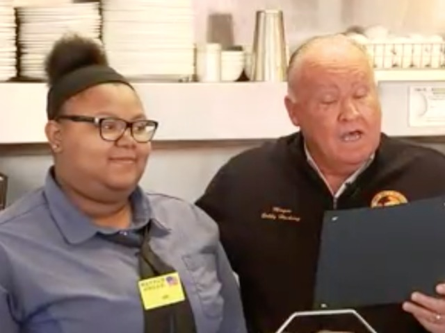 Teen Waitress Gets College Scholarship After Act Of Kindness Goes Viral