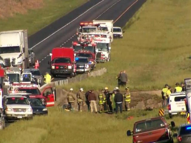 1 confirmed death; charter bus carrying students plunges into ravine