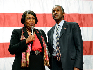 Ben Carson says wife picked out dining room set