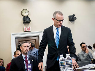 McCabe: Firing part of Trump's 'war' with FBI