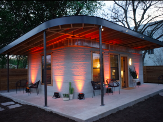 Go inside a 3D-printed home that cost $4,000