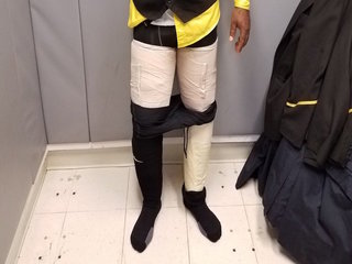 Worker has 9 pounds of cocaine taped to leg