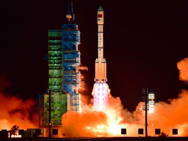 Chinese space lab mostly disintegrates after entering Earth's atmosphere over South Pacific