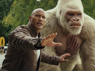 'Rampage' stomps onto home video