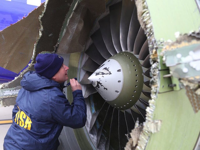 FAA orders emergency inspections after Southwest Airlines' engine failure