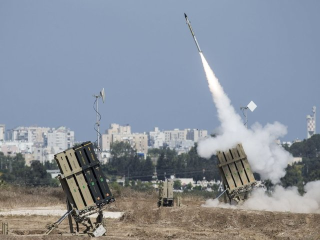 Trump, May condemn Iran rocket attacks on Israel - White House