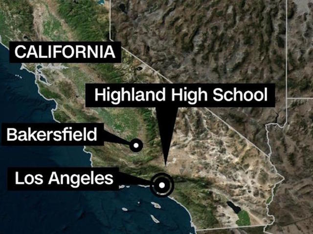 Deputies respond to reports of possible shooting at Highland High in Palmdale