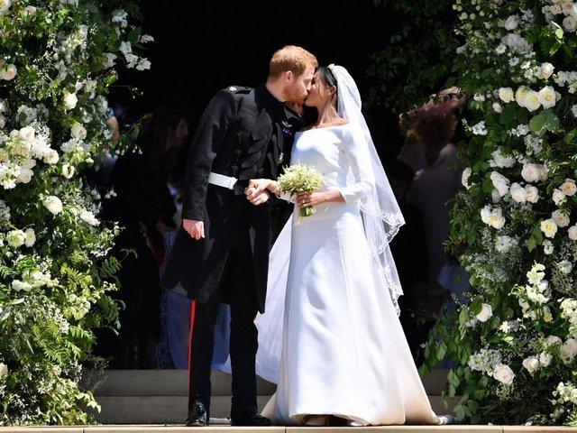 Royal wedding broke with tradition