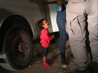 Chaos as parents search for separated children