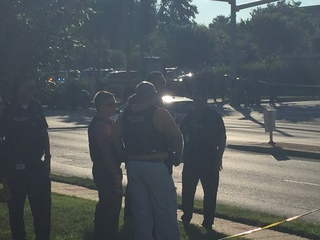 Gunman opens fire on Maryland newspaper office