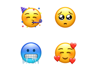 These are all the new emoji coming out