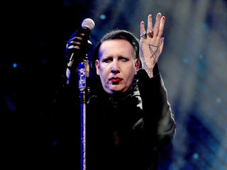 Marilyn Manson collapses on stage at concert